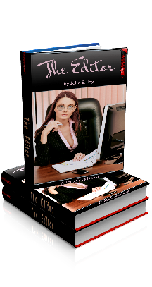 3D Ebook Cover - The Editor, by John E. Jay