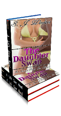 3D Ebook Cover - The Daughter Swap - by S.J. Winters