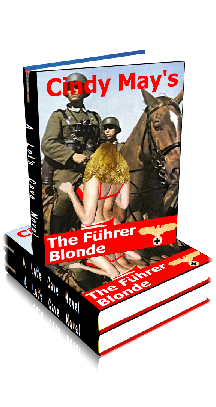 3D Ebook Cover - The Fuehrer Blonde ~ The Fuehrer Girls No.1 ~ by Cindy May