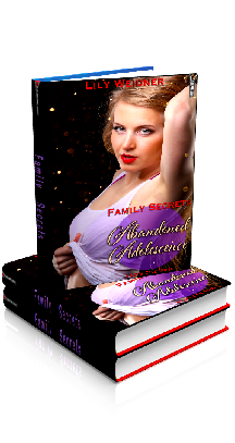 3D Ebook Cover - Abandoned Adolescence - Family Secrets No.1 - by Lily Weidner