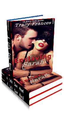3D Ebook Cover - Enslaving Sarah - by Tracy Frances