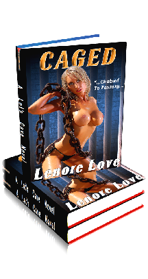 3D Ebook Cover -Caged - by Lenore Love