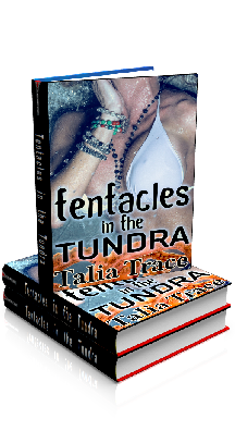 3D Ebook Cover - Tentacles in the Tundra - by Talia Trace