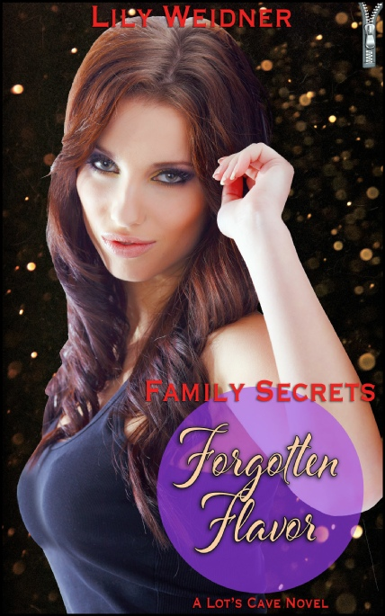 Book Cover Photo: Forgotten Flavor - Family Secrets No.6 - Lily Weidner