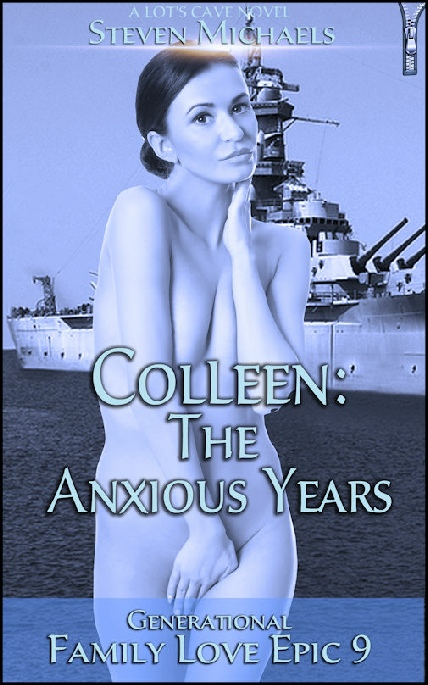 Book Cover Photo: Colleen: The Anxious Years - Family Love Epic 9 - by Steven Michaels