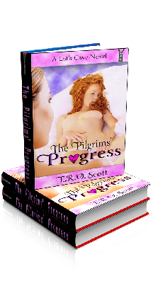 3D Ebook Cover - The Pilgrims Progress, by E.R.O. Scott
