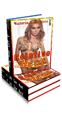 3D Ebook Cover - Relative Heat: Daddies and Daughters - by Victoria Blackstone