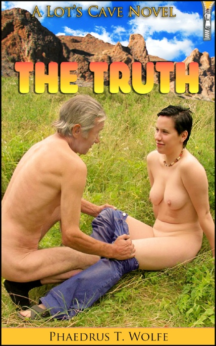 Book Cover Photo: The Truth, by Phaedrus T. Wolfe