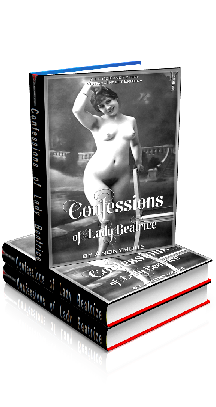 3D Ebook Cover - The Confessions of Lady Beatrice, by Anonymous