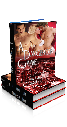 Book Cover Photo - A Dangerous Game, by Dee Dawning