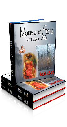 3D Ebook Cover - Moms and Sons - Volume No.1 - by Baron LeSade