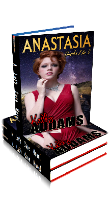 3D Ebook Cover - Anastasia ~ Complete 3 Volumes ~ by Kelly Addams