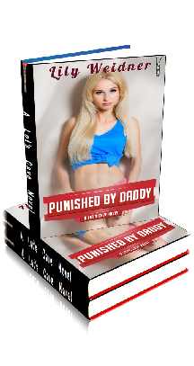 3D Ebook Cover - Punished By Daddy - Hardcore Taboo Erotica No.4 - by Lily Weidner