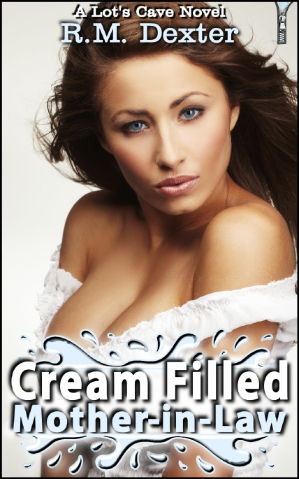 Book Cover Photo: Cream Filled Mother-in-Law - by R.M. Dexter
