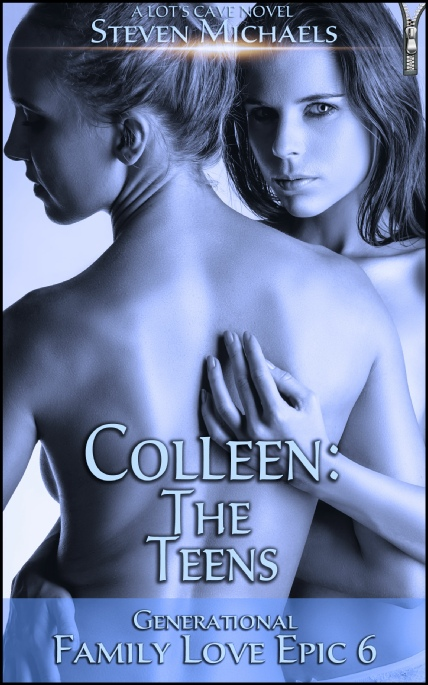 Book Cover Photo: Colleen: The Teens - Family Love Epic 6 - by Steven Michaels