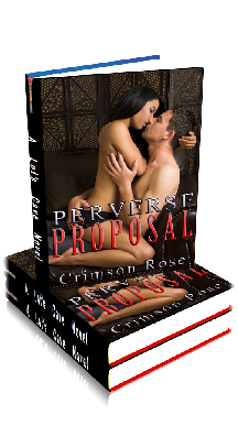 3D Ebook Cover - Perverse Proposal - by Crimson Rose