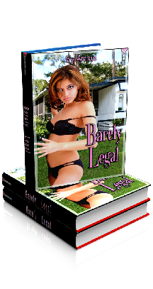 3D Ebook Cover - Barely Legal, by Amicus