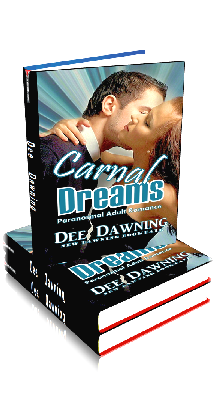 3D Ebook Cover - Carnal Dreams - by Dee Dawning