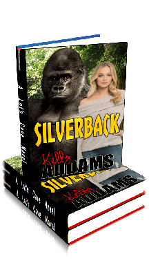 3D Ebook Cover - Silverback ~ by Kelly Addams