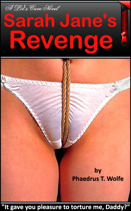 Book Cover Photo: Sarah Jane's Revenge, by Phaedrus T. Wolfe