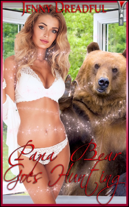 Book Cover Photo: Papa Bear Goes Hunting - The Gods Must Be Horny No.1 - by Jenny Dreadful