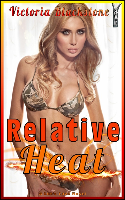 Book Cover Photo: Relative Heat: Daddies and Daughters - by Victoria Blackstone
