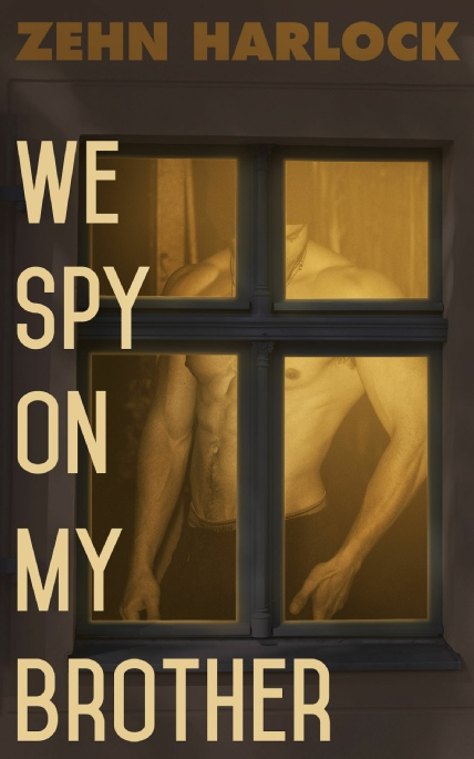 Book Cover Photo: We Spy On My Brother ~ by Zehn Harlock