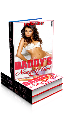 3D Ebook Cover - Daddy's Naughty Girl - Lily Weidner