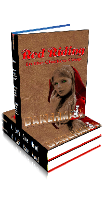 3D Ebook Cover - Red Riding: In The Chicken Coop - by Bakerman