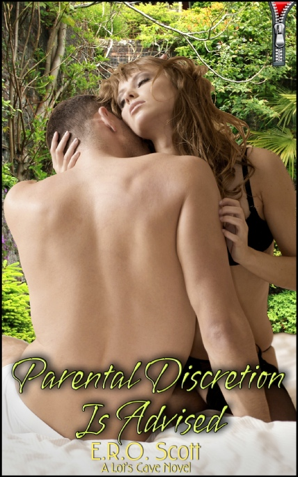 Book Cover Photo: Parental Discretion is Advised, by E.R.O. Scott
