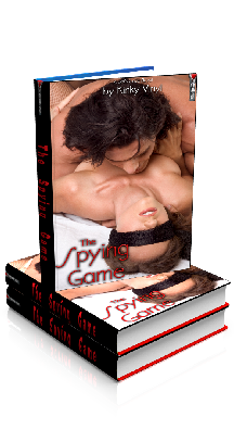 3D Ebook Cover - The Spying Game, by Kinky Vinyl