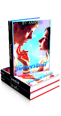 3D Ebook Cover - Twincestival - by Amicus