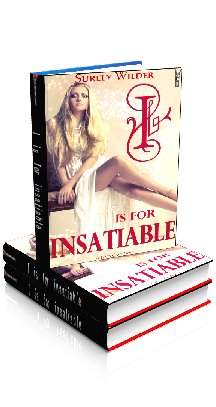 3D Ebook Cover - I is for Insatiable - Taboo Family Indulgence - by Surely Wilder