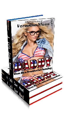 3D Ebook Cover - Daddy Gives Me a Presidential Pounding - by Veronica Sloan