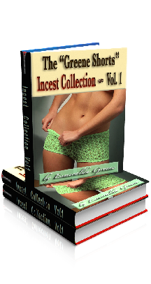 "3D Ebook Cover - The ""Greene Shorts"" Incest Collection - Volume 1 - by Esmeralda Greene"
