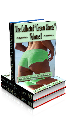 "3D Ebook Cover - The Collected ""Greene Shorts"" - Volume 1 - by Esmeralda Greene"
