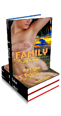 3D Ebook Cover - Family Retreat - by R. Richard