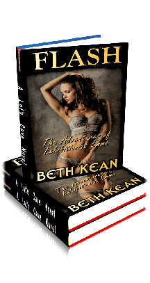 3D Ebook Cover - Flash: The Adventures of Exhibitionist Emma ~ by Beth Kean