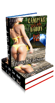 3D Ebook Cover - Camping With Daddy No.2 ~ by Ginny Watson