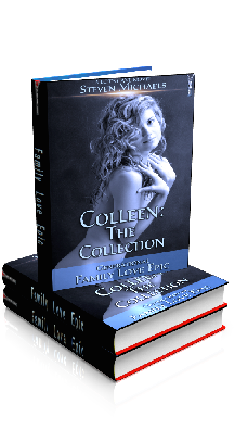3D Ebook Cover - Colleen: The Voyage - Family Love Epic 1 - by Steven Michaels