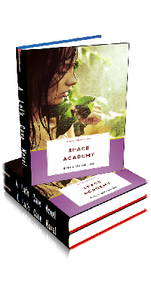 3D Ebook Cover - Space Academy: BDSM Erotica for Men ~ by Emily Wendling