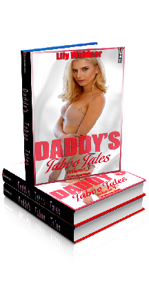 3D Ebook Cover - Daddy's Taboo Tales - Volume 3 Bundle- Lily Weidner