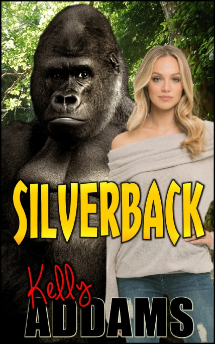 Book Cover Photo: Silverback ~ by Kelly Addams
