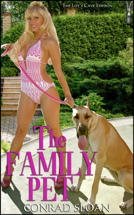 Book Cover Photo: The Family Pet - by Conrad Sloan