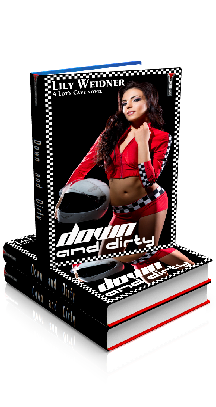 3D Ebook Cover - Down and Dirty - by Lily Weidner