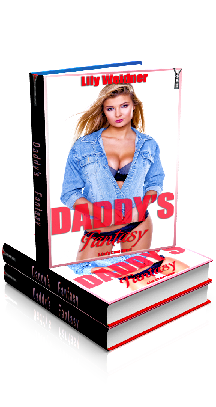 3D Ebook Cover - Daddy's Fantasy - by Lily Weidner