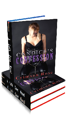 3D Ebook Cover - Candice's Confession - by Crimson Rose