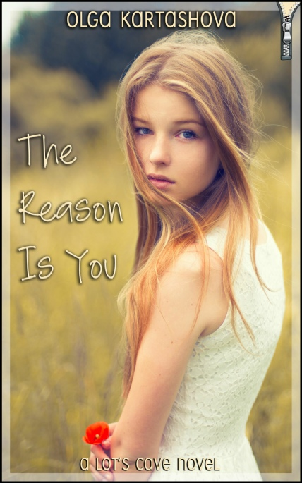 Book Cover Photo: The Reason is You, by Olga Kartashova