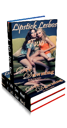 3D Ebook Cover - Lipstick Lesbos Two - by Dee Dawning