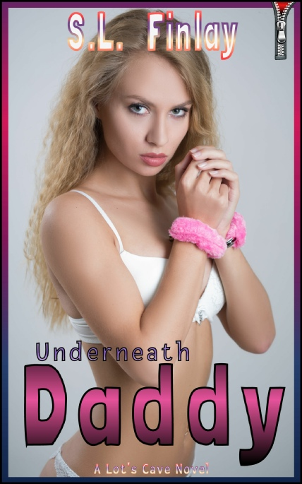 Book Cover Photo: Underneath Daddy ~ by S.L. Finlay